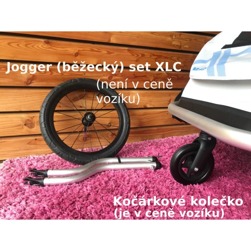 Běžecký a kočárkový set XLC by CROOZER