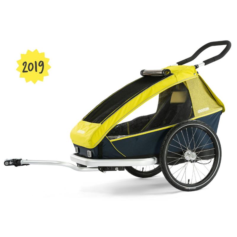 Vozík CROOZER Kid for 1 2019, zelený