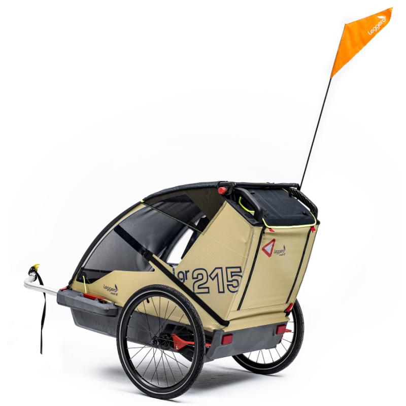 Švýcarský vozík za kolo Leggero Vento