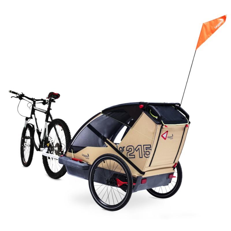 Švýcarský vozík za kolo Leggero Vento Pure