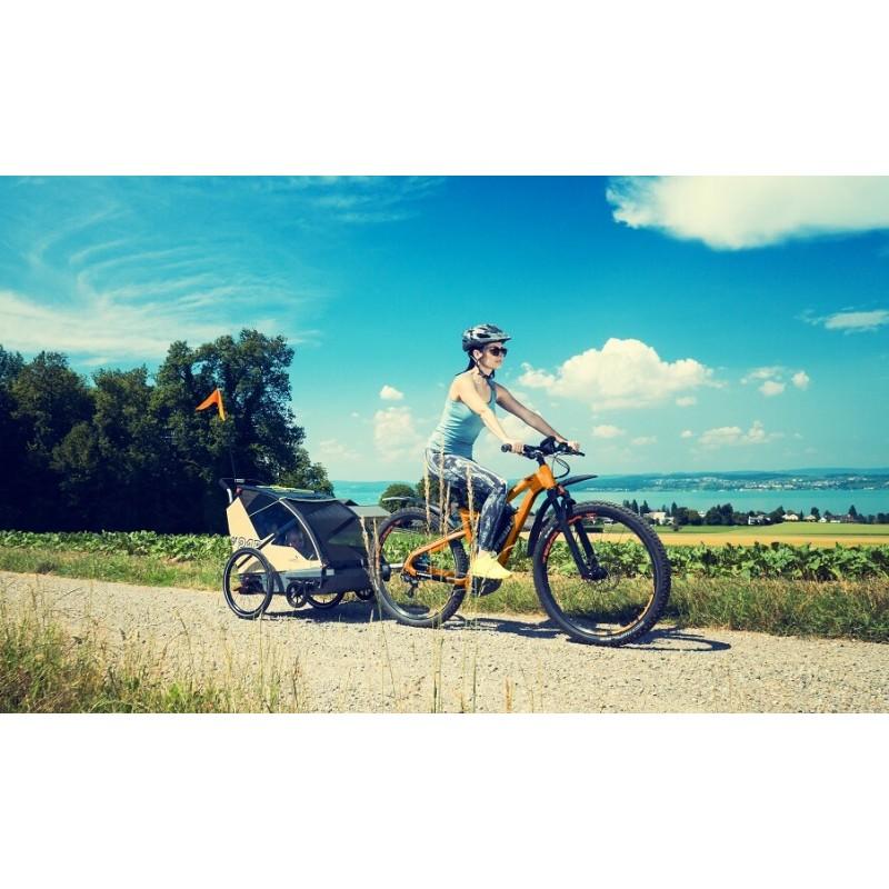 Leggero Vento odpružený vozík za kolo a kočárek