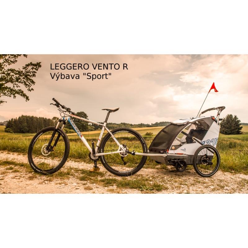 Švýcarský vozík za kolo Leggero Vento R Sport
