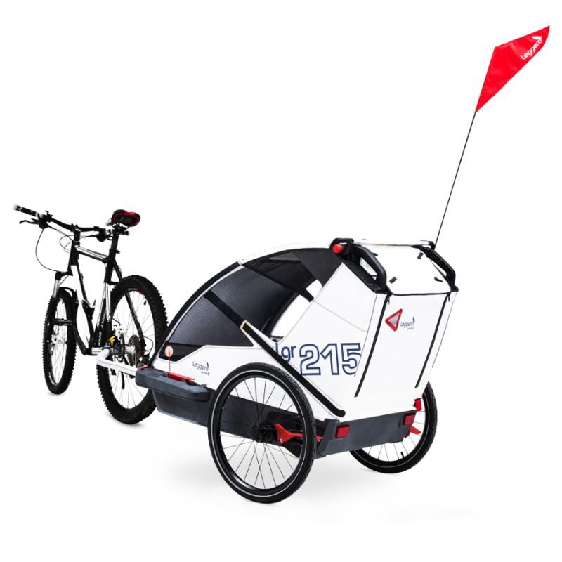 Švýcarský vozík za kolo pro psa Leggero Vento