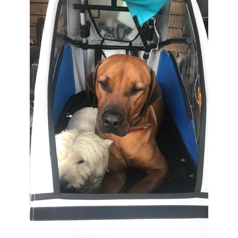 Odpružený vozík za kolo pro psa by CROOZER