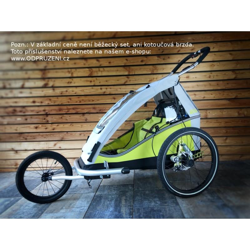 Vozík za kolo XLC by CROOZER green 2019