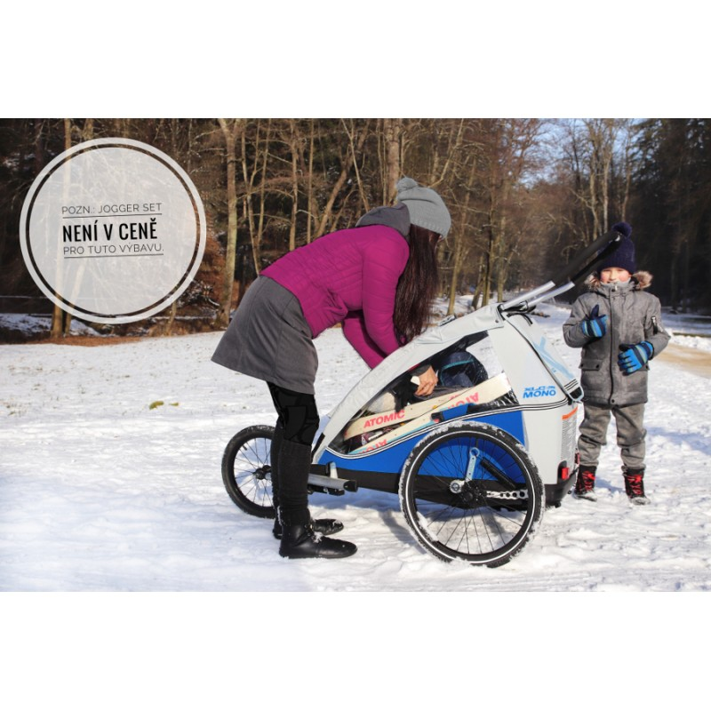 XLC by CROOZER Mono Plus vozík za kolo s jogger setem