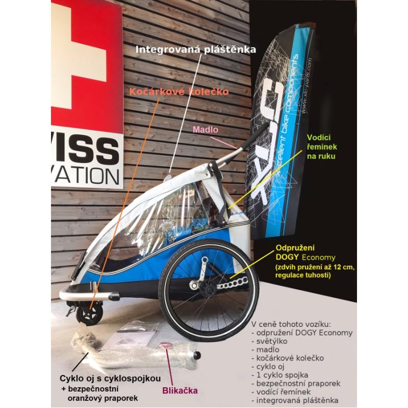 XLC by CROOZER Mono vozík s odpružením
