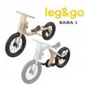 LEG&GO Dětské odrážedlo a kolo 2v1