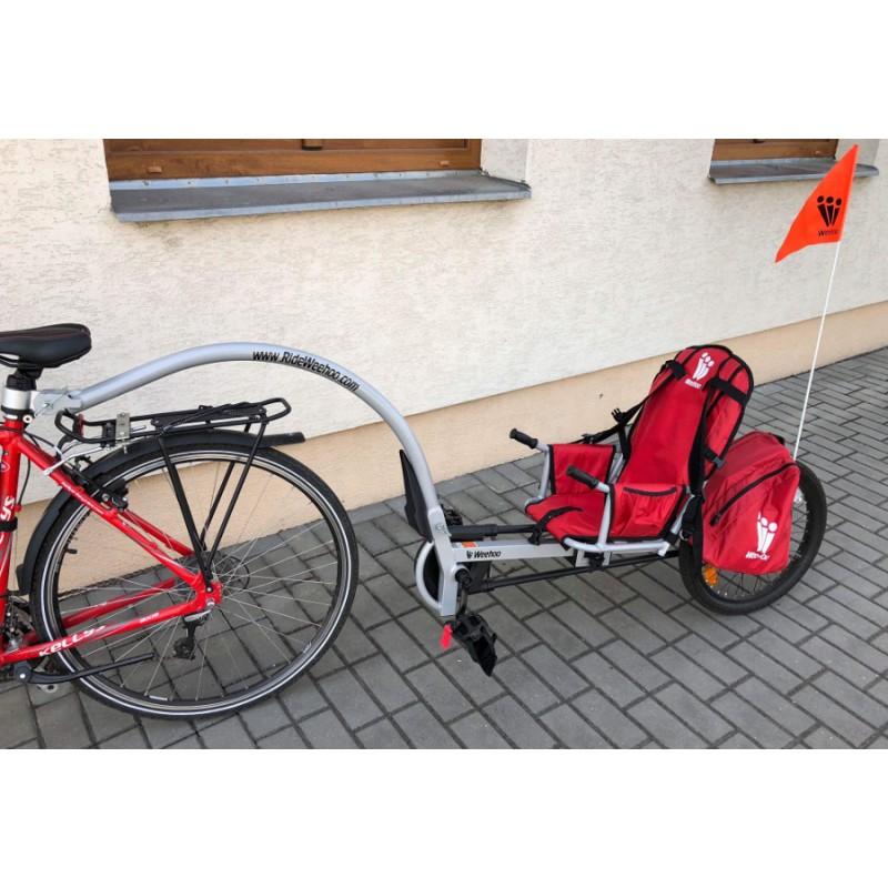 WeeHoo Turbo 2015 jednostopý vozík za kolo