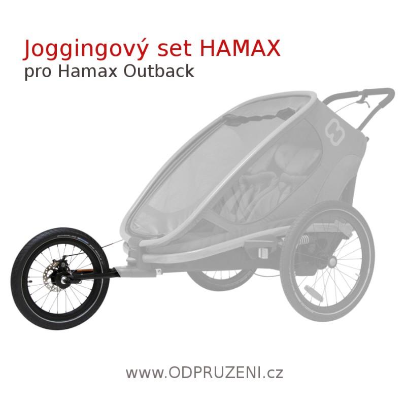 Jogger set pro vozík za kolo HAMAX Outback 2020