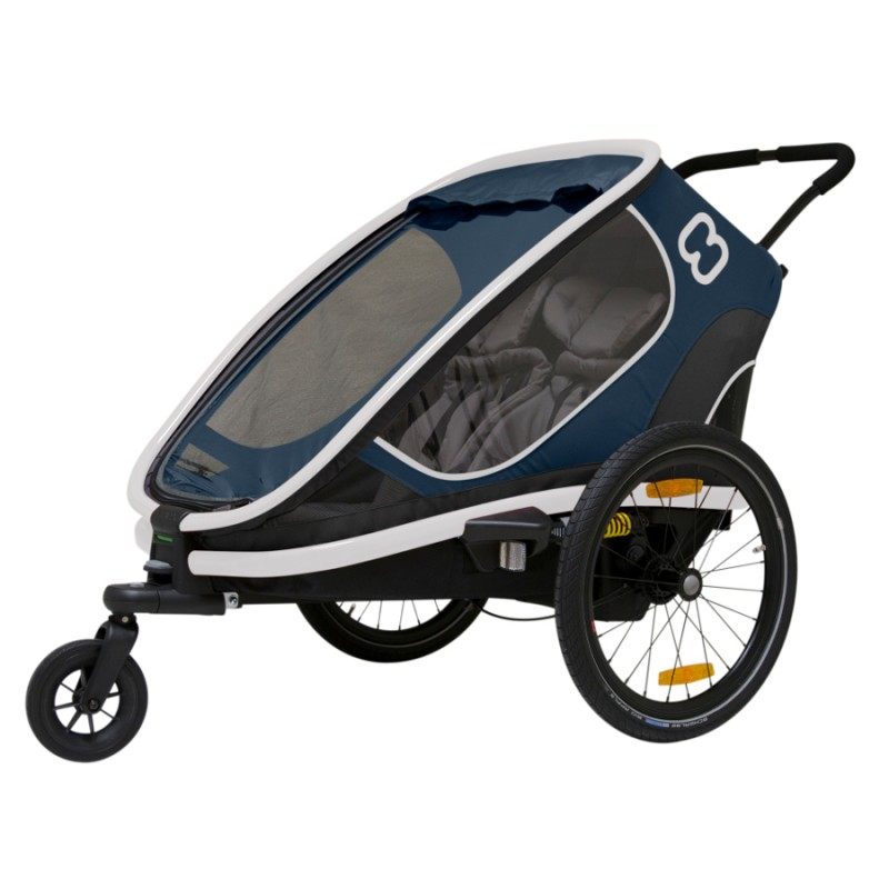 Dvoumístný vozík za kolo Hamax Outback 2v1 2020