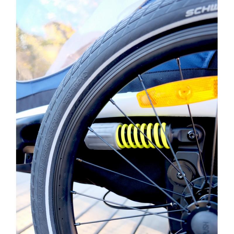 Odpružení vozíku za kolo Hamax Outback 2v1 2020