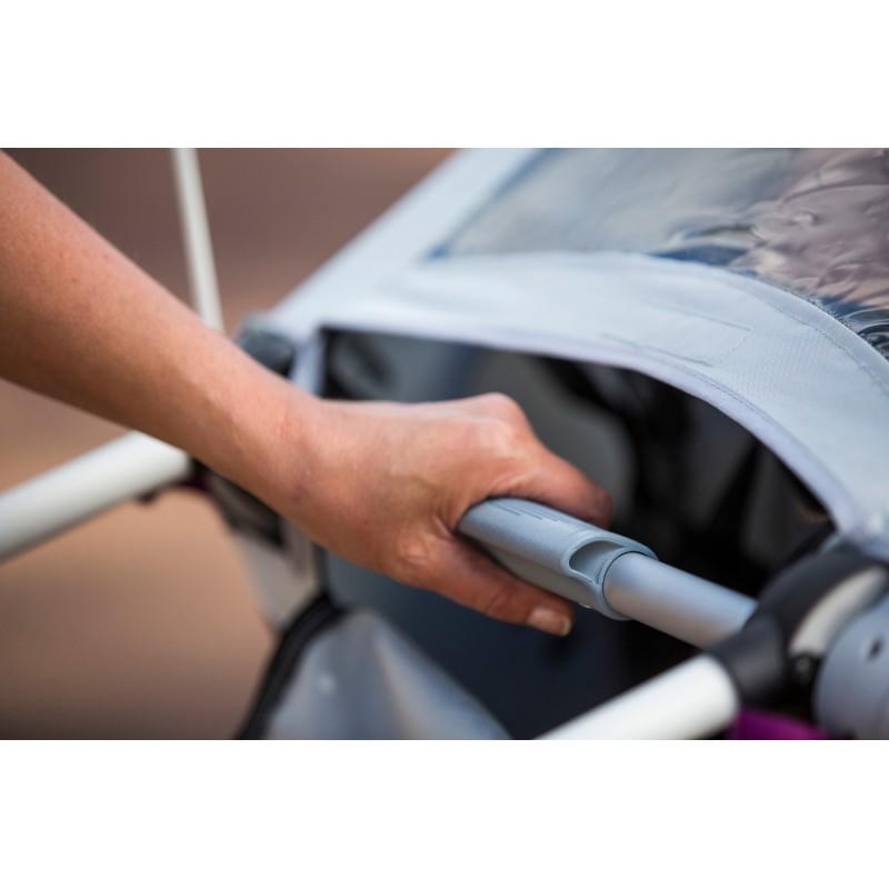 Polohování madla vozíku za kolo Hamax Outback 2v1 2020