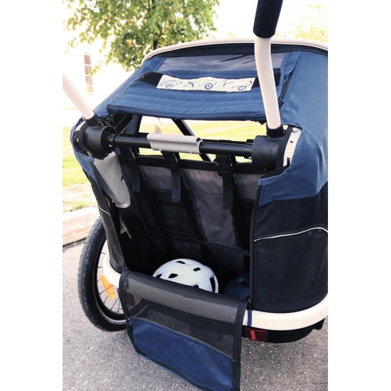 Polohování sedačky vozíku za kolo Hamax Outback 2v1 2020