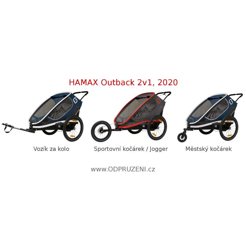 Sportovní kočárek Hamax Outback 2v1 2020