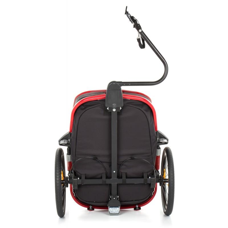 Podvozek vozíku za kolo Hamax Outback ONE Grey-Red 2020
