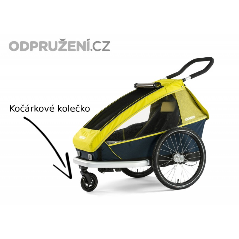 Cyklovozík CROOZER Kid for 1 2019, kocarkovy set