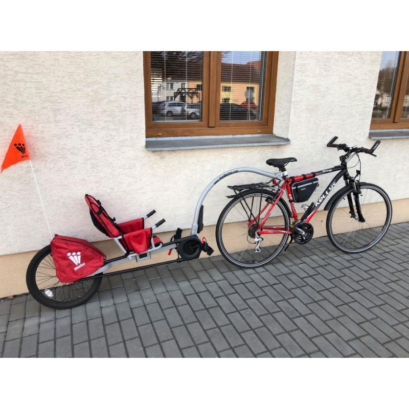 WeeHoo dětský jednostopý vozík za kolo