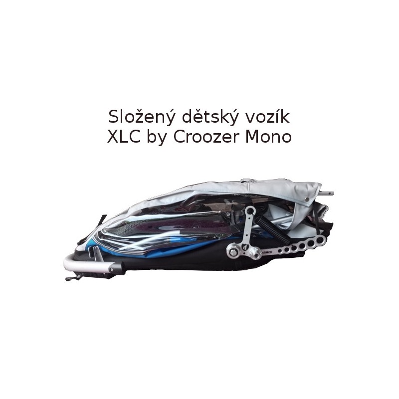Složený vozík za kolo XLC by CROOZER