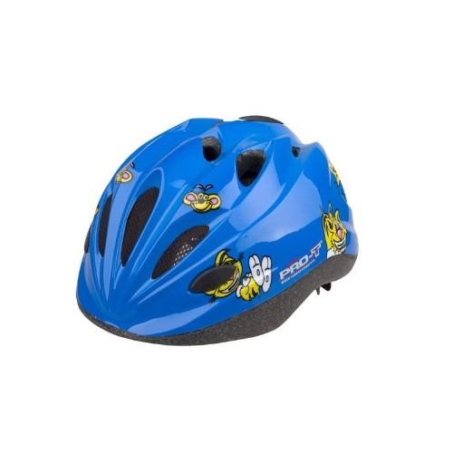 Dětská chlapecká přilba modrá Pro-T Vigo tygr S