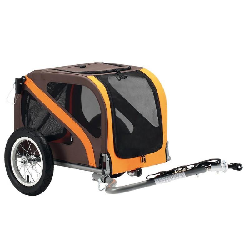"""Vozík za kolo a kočárek pro psa Dog Mini 12"""""""