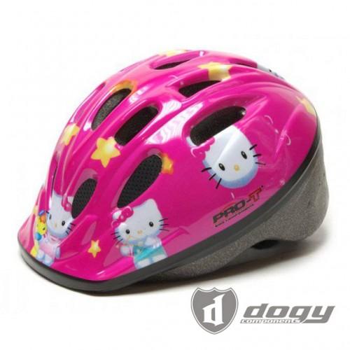 Dětská certifikovaná cyklo přilba Hello Kitty S