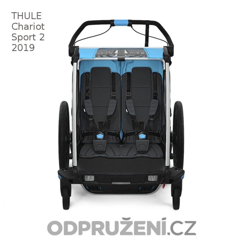 Thule Chariot Sport 2 Blue 2019 sezení