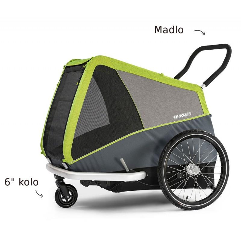 Kočárkový set pro vozík za kolo pro psa Croozer DOG XL