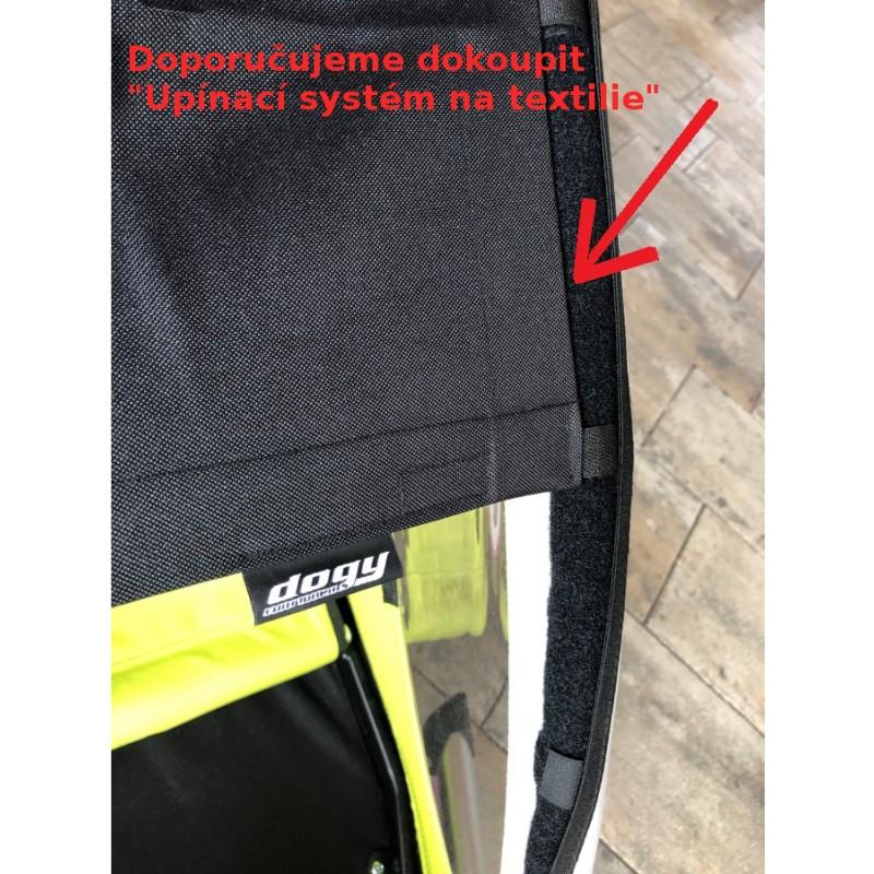 upínací systém pro boční clony na vozík XLC by Croozer