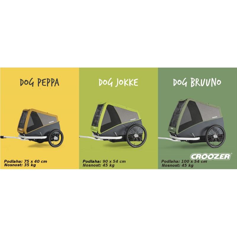 vozík za kolo pro psy CROOZER DOG