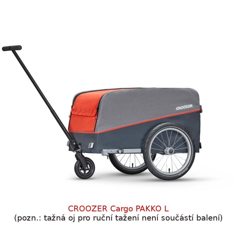 Ruční kárka Croozer Cargo L Pakko Red