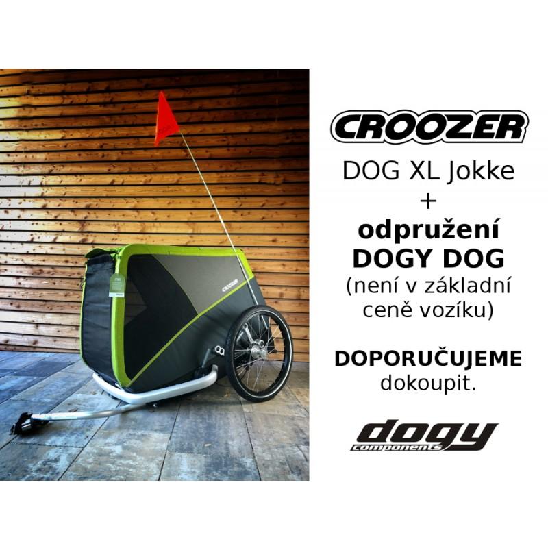 Vozík za kolo pro psy CROOZER DOG XL Jokke