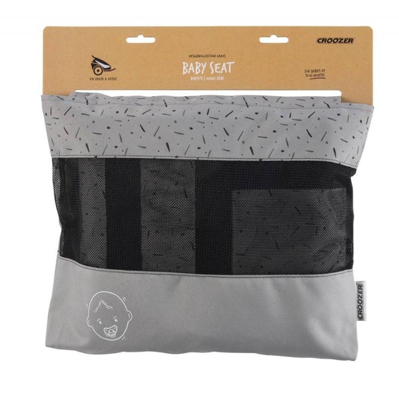 CROOZER miminkovník Kaaos šedý stone grey