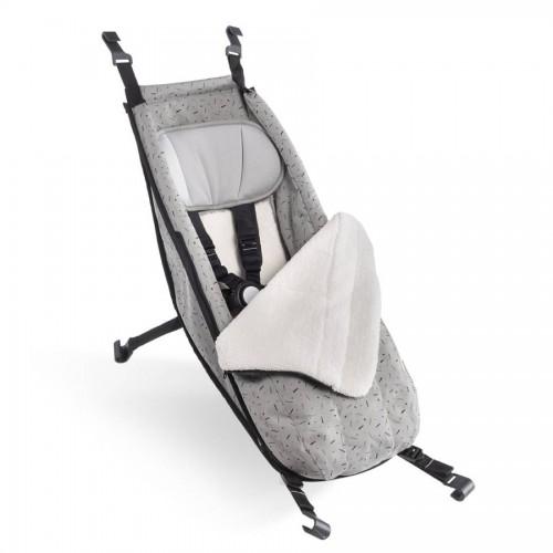 Zimní set do CROOZER miminkovníku Kaaos stone grey