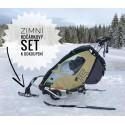 Přední lyže zimního kočárkového setu Leggero