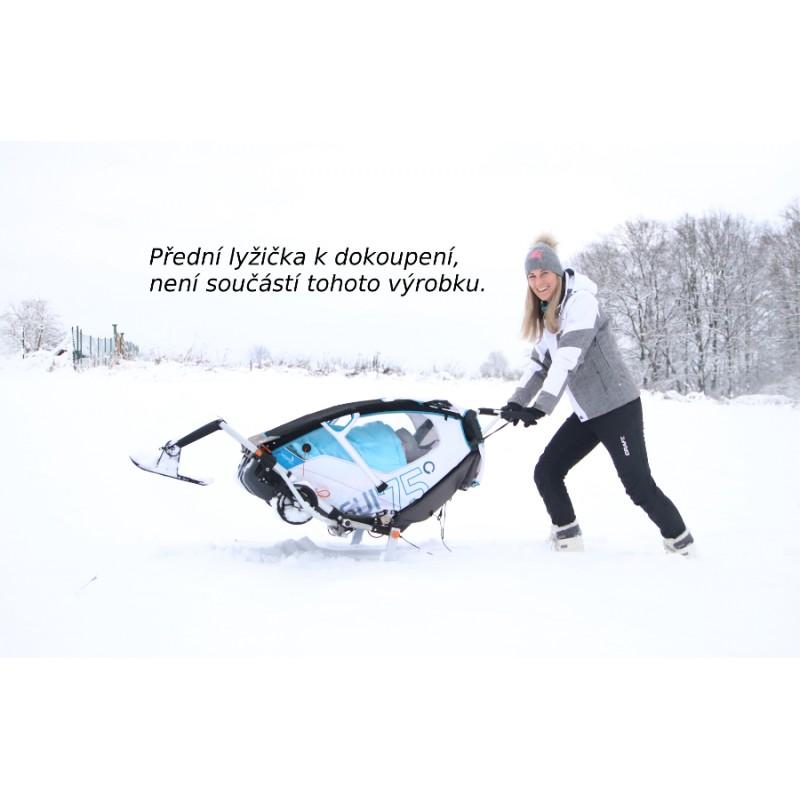 Leggero Enso bílý lyžařský set
