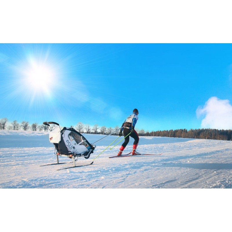 Leggero Enso bílý se ski setem, Petr Sůsa
