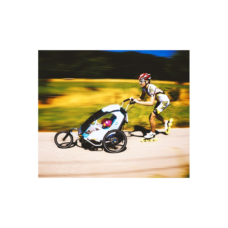 Vozík Leggero Enso bílý s jogger setem