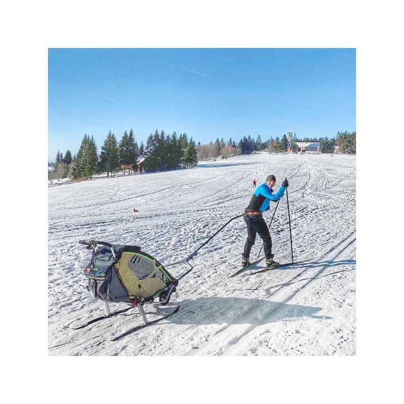 Ski set  pro vozík za kolo Leggero Enso