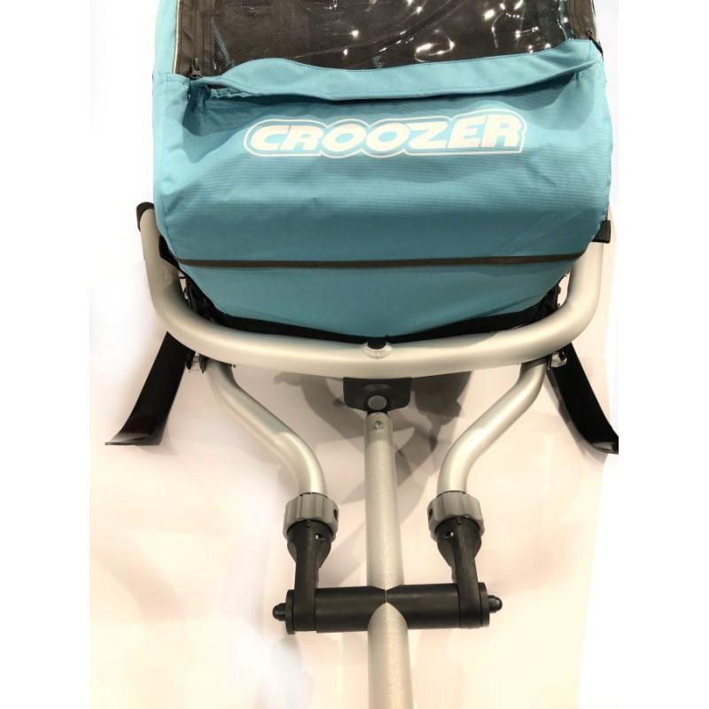 SKI Lyžařský set DOGY pro vozík za kolo Croozer a XLC
