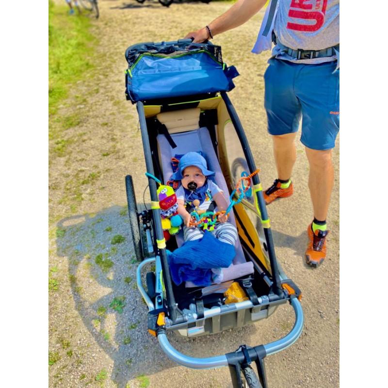Miminkovník pro vozík za kolo LEGGERO Enso