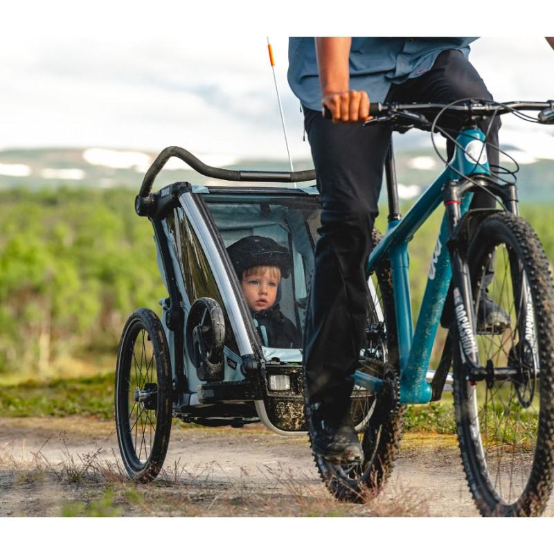 Thule Cross 2 Alaska modrý vozík za kolo