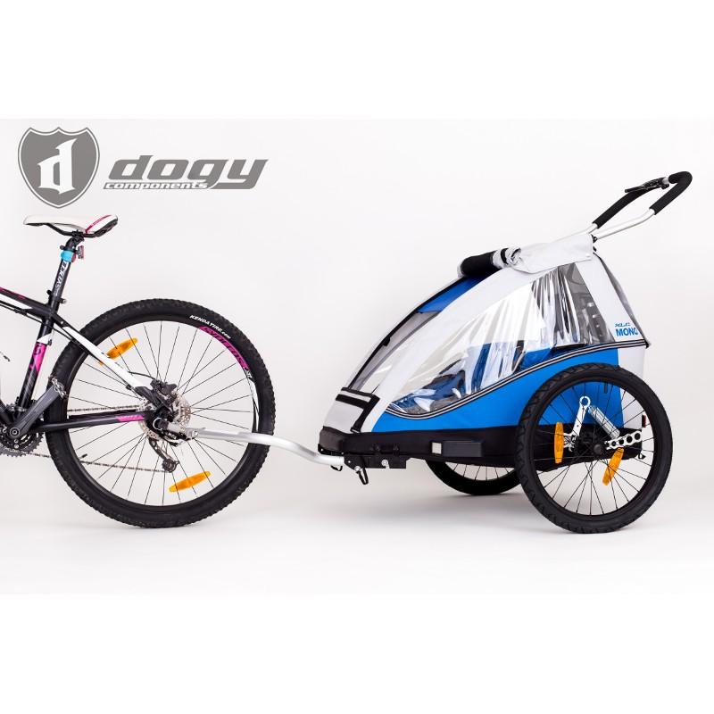 Vozík za kolo XLC by Croozer a odpružení DOGY