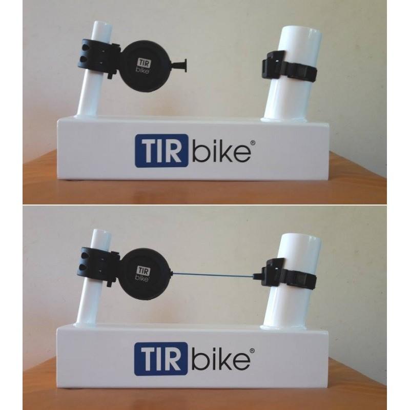 TIR bike - Samonavíjecí tažné lano na dětské kolo místo tažné tyče