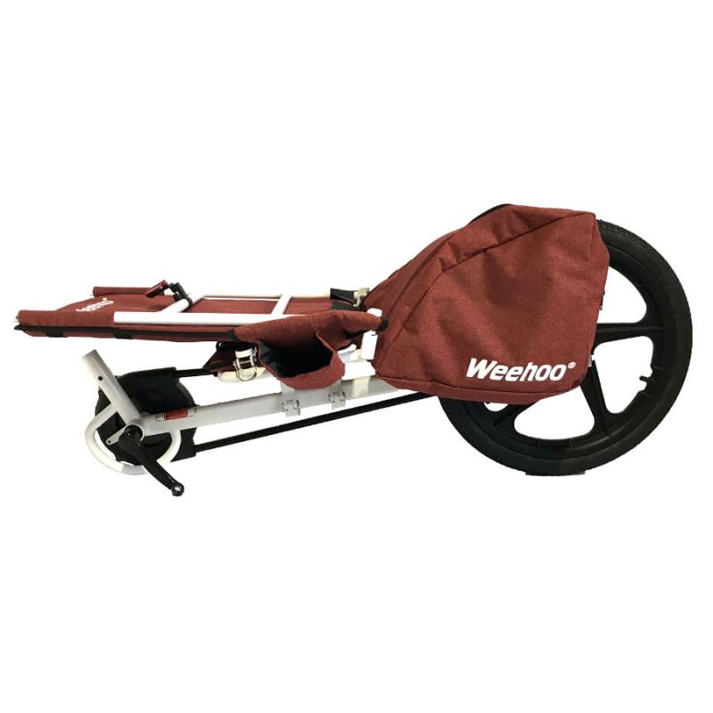 WeeHoo Thrill jednostopý dětský vozík za kolo