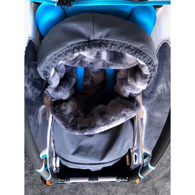 Fusak 3v1 do vozíku za kolo Leggero