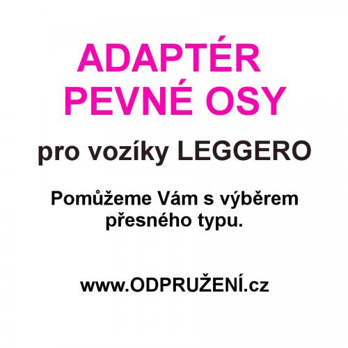Adaptér pevné osy pro LEGGERO - výbereme typ