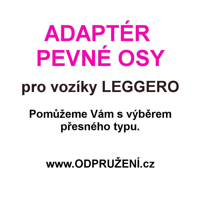 Adaptér pevné osy pro LEGGERO - výběr