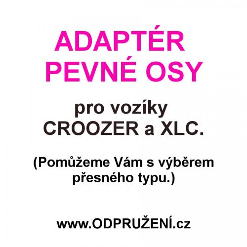 Adaptér pevné osy pro XLC a Croozer - dovybereme typ