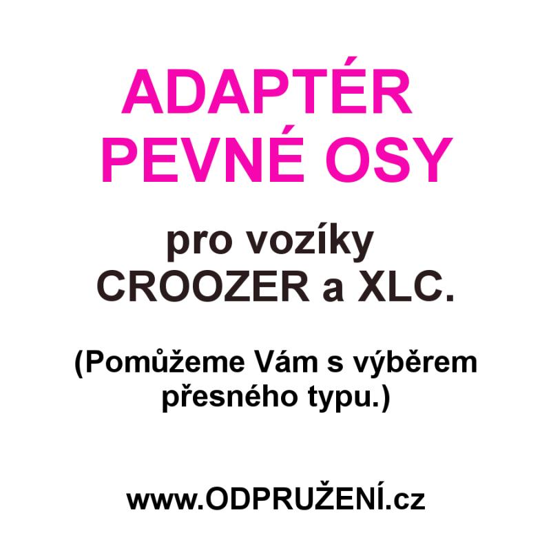 Adaptér pevné osy pro Croozer a XLC - pomůžeme s výběrem